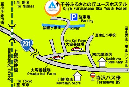 YH周辺地図