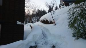 雪の回廊?