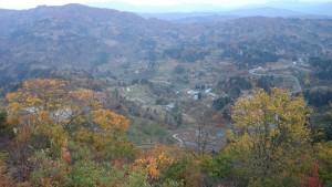 金倉山山頂から山古志方面