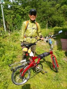 Oさんとその相棒の自転車
