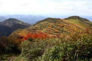 171005-1219浅草岳山頂より前岳